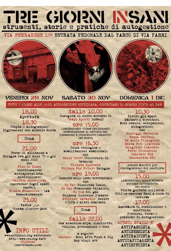 Bologna, 30 novembre 2019