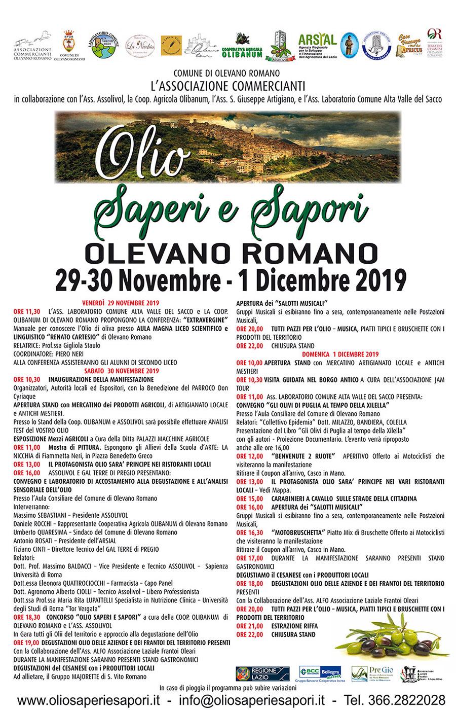 Olevano Romano, 1 dicembre 2019